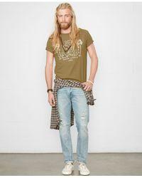 Denim & Supply Ralph Lauren - Green Eagle-graphic T-shirt for Men - Lyst