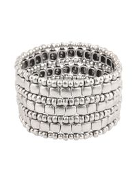 Philippe Audibert | Gray Box 3 Triple Wrap Cuff | Lyst