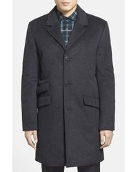 Vince Camuto - Gray Topcoat for Men - Lyst