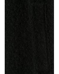 Helmut Lang - Alpaca Coat With Wool - Black - Lyst