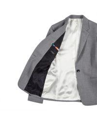 Paul Smith - Gray Classic Wool Blazer  - Lyst