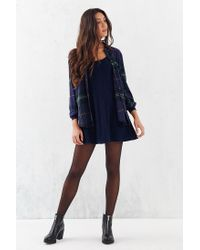 BDG | Blue Camp Sweater Dress | Lyst