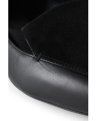 HUGO - Black Leather Ballerinas: 'rosabel' - Lyst