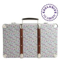 Liberty | Metallic Floral Eloise Print Mini Suitcase | Lyst