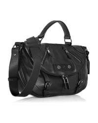 Alexander McQueen - Black Faithful Small Leather Satchel - Lyst
