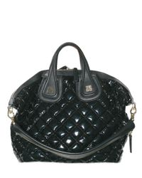 Givenchy | Black Vinyl and Nappa Nightingale Top Handle | Lyst