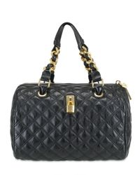Marc Jacobs | Black Medium Leather Bag | Lyst
