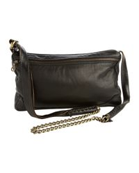 Jas MB | Black Leather Cross Body Chain Bag | Lyst