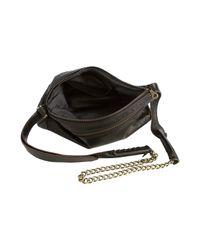Jas MB | Black Leather Cross Body Chain Bag | Lyst