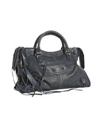 Balenciaga | Blue Classic City Bag | Lyst