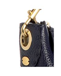 Fendi - Blue Leather Selleria Medium Shoulder Bag - Lyst