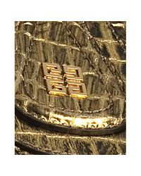 Givenchy - Metallic Gold Croc Embossed Nightinglae Moyen Medium Bag - Lyst