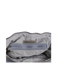 Rough Roses - Gray Ash Leather Riley Messenger Bag - Lyst