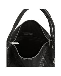 Rough Roses - Black Leather Roxy Shopper Tote - Lyst