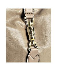 Gucci | Natural Beige Leather New Jackie Small Hobo | Lyst