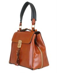 Chloé - Brown Darla Leather Tote - Lyst