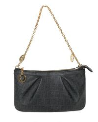 Fendi | Black Chain Handle Bag | Lyst