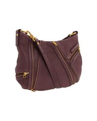 Marc By Marc Jacobs | Purple Kelsey Lambskin-leather Bag | Lyst