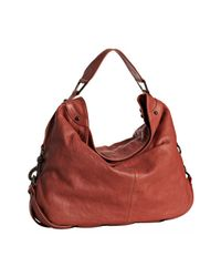 Rebecca Minkoff | Red Salmon Leather Nikki Hobo | Lyst