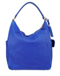 Saint Laurent | Blue Roady Hobo Bag | Lyst