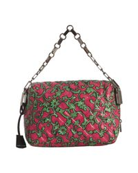 Marc Jacobs - Pink Quilted Leather Misfit Chain Bag - Lyst