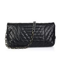 Lanvin | Black Happy Pop Quilted Leather Shoulder Bag | Lyst