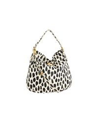 Marc By Marc Jacobs - Black Printed Hiller Hobo Bag - Lyst