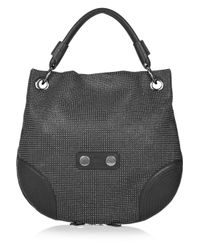 Alexander McQueen | Black Faithful Medium Hobo Bag | Lyst