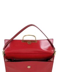 Roger Vivier - Red Miss Viv Medium Leather Shoulder Bag - Lyst