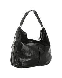 Saint Laurent | Black Sac Zip Leather Hobo | Lyst