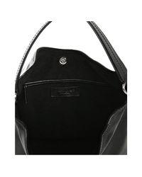 Saint Laurent - Black Sac Zip Leather Hobo - Lyst