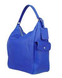 Saint Laurent - Blue Roady Hobo Bag - Lyst