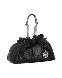 Dior - Black Lambskin Le 30 Cannage Tote - Lyst