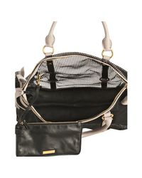 Miu Miu - Black Nylon Mesh Bow Detail Top Handle Bag - Lyst