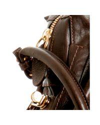 Chloé - Brown Large Paraty Bag - Lyst