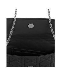 Dior - Black Cannage Leather Lady Mini Bag - Lyst