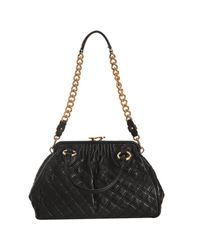 Marc Jacobs - Black Quilted Leather Stam Handbag - Lyst