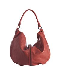 Rebecca Minkoff - Red Salmon Leather Darling Hobo - Lyst