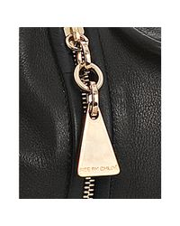 See By Chloé   Black Leather Tassle Bag   Lyst