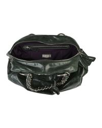 Miu Miu - Green Vitello Chain Handle Bag - Lyst