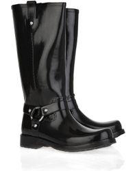 Kors by Michael Kors | Black Stormy Wellington Boots | Lyst