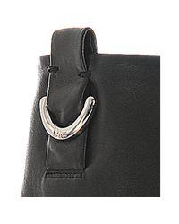 Dior - Black Lambskin Demi Lune Slouchy Boots - Lyst