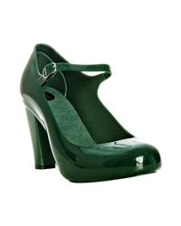 Melissa | Green Jelly Ashia Mary-jane Pumps | Lyst