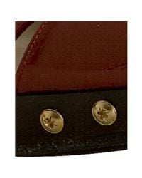 Stuart Weitzman - Red Patent Blenny Peep Toe Slingbacks - Lyst