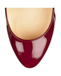 Christian Louboutin - Red Elisa 100 Pumps - Lyst