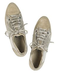 Pedro Garcia | Natural Liberty Suede Sneakers | Lyst