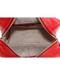 kate spade new york - Red Macdougal Alley - Small Damien Leather Satchel - Lyst