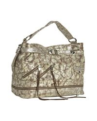 Rebecca Minkoff | Metallic Washed Silver Distressed Leather Biker Devote Shoulder Bag | Lyst