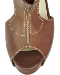 Rupert Sanderson - Brown Oracle Leather Shoe Boots - Lyst