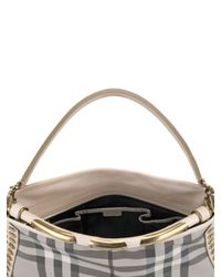 Burberry Prorsum - Natural Check Medium Shoulder Bag - Lyst